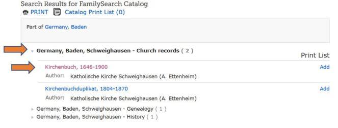 FHL Catalog results